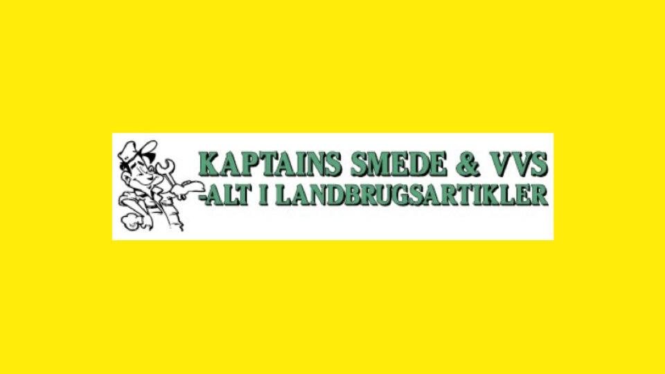 kaptains smede & vvs